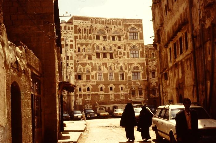 Sana'a: oude stad.
