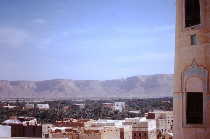 Say'un: Gasr al-thawra en omgeving.