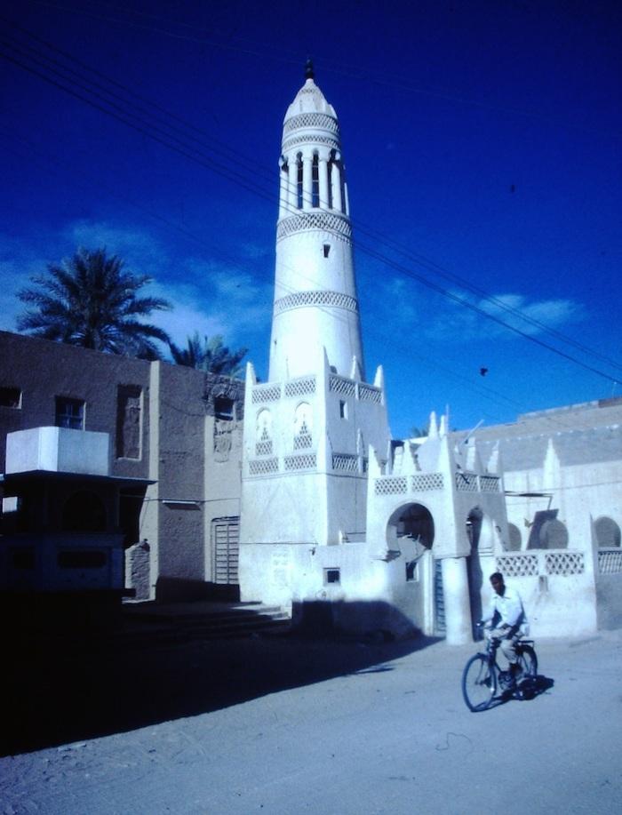 Traditionele minaret.