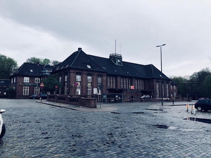 Flensburg, der Bahnhof