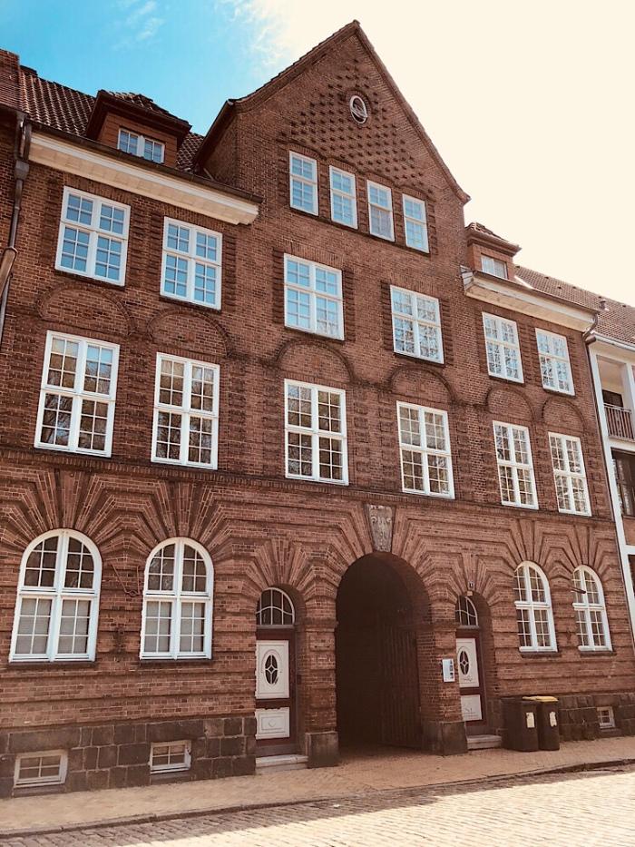 Das Gebäude des Eichamtes in der Karlstraße