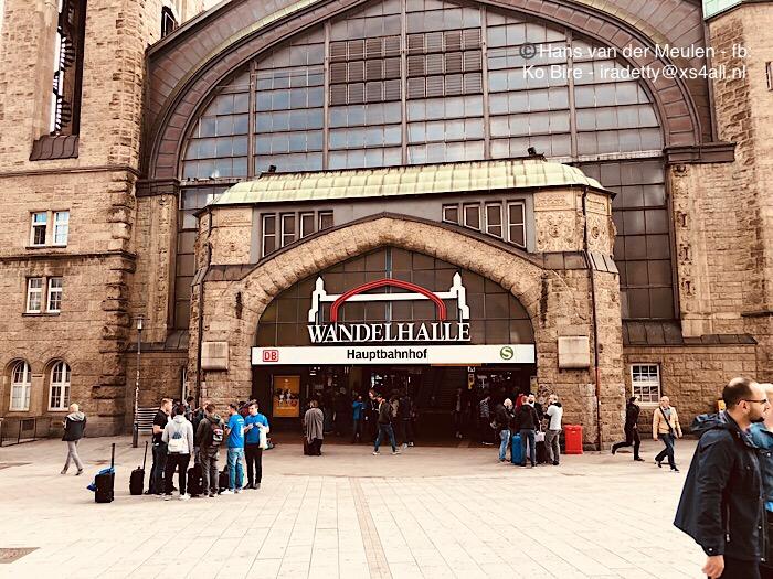 Hamburg Hauptbahnhof: Wandelhalle