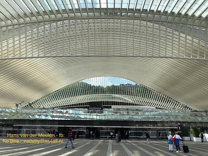 Luik: station Guillemins