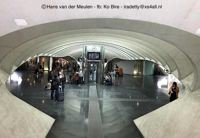 Luik: station Guillemins