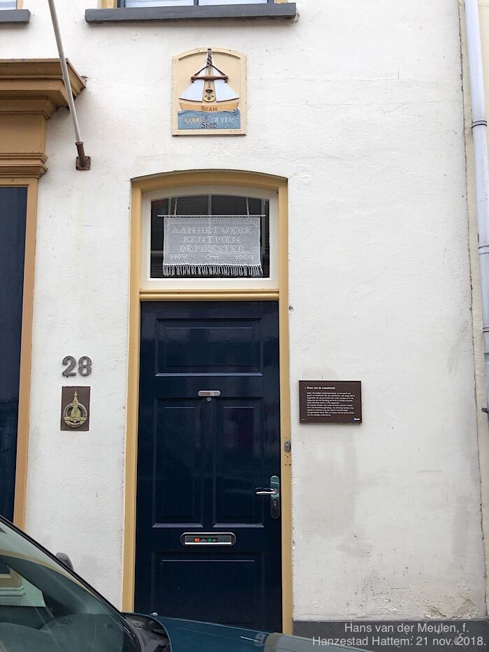 Ridderstraat 28: Bram van de Loosdrecht