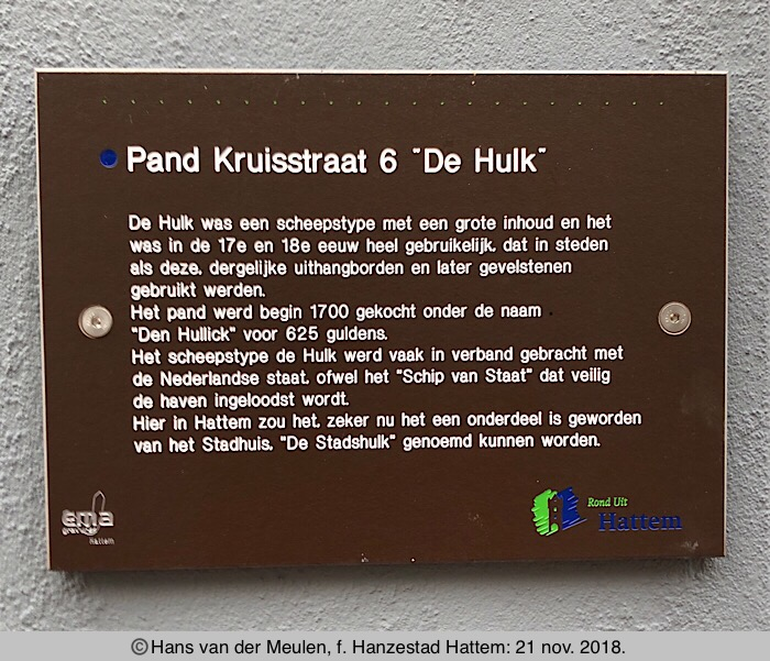 Kruisstraat 6: De Hulk