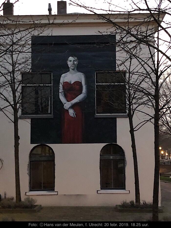 Muurschildering Pyke Koch