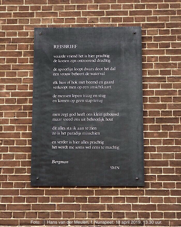 Gedicht Bergman