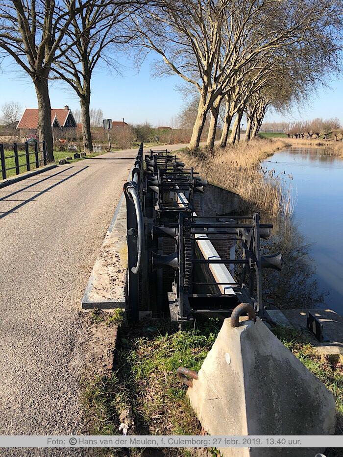 Fort Everdingen Inlaatsluis