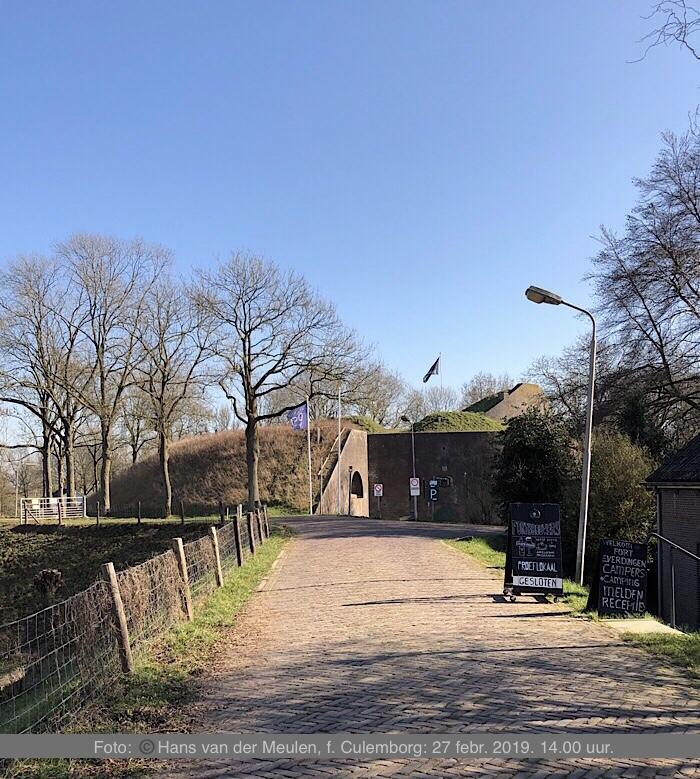 Fort Everdingen Ingang