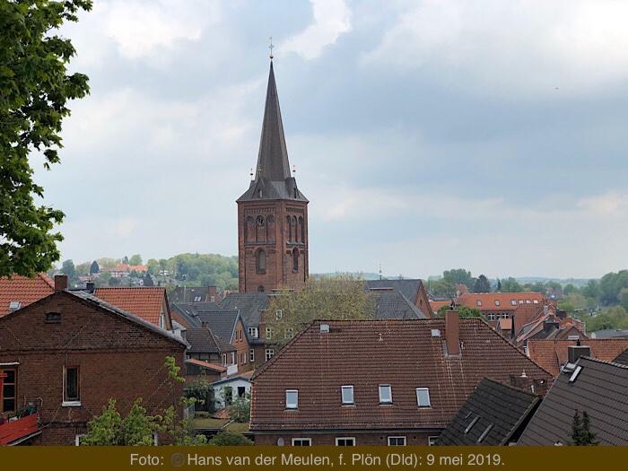 Nikolaikirche vanaf de Schloßberg