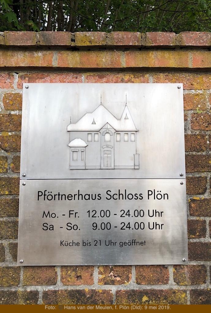 Pförtnerhaus Schloss Plön