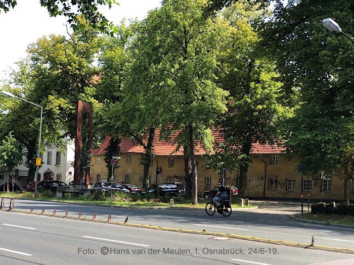 Oude huizen aan de Bocksmauer