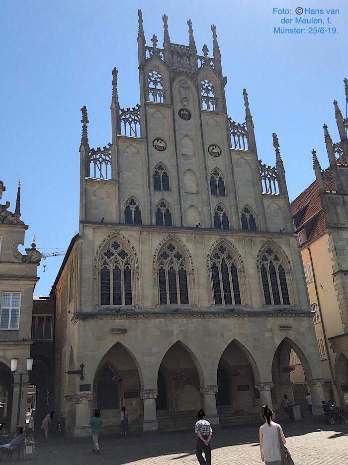 Laatgotisch Stadhuis Prinzipalmarkt 10