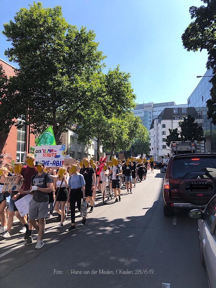 Magnusstraße: klimaat-schoolstaking