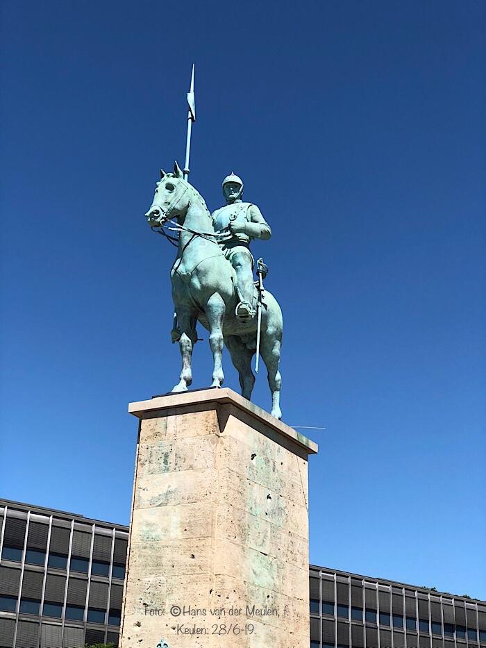 Ruiterstandbeeld keizer Wilhelm I