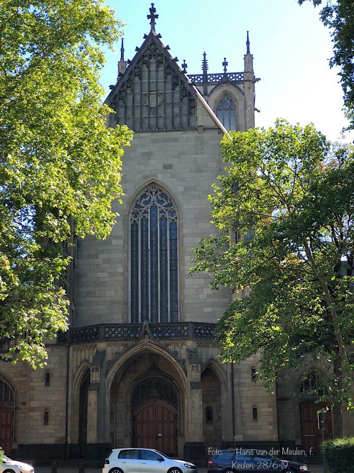 Sint Pauluskerk: Vorgebirgstraße/Lothringer Straße