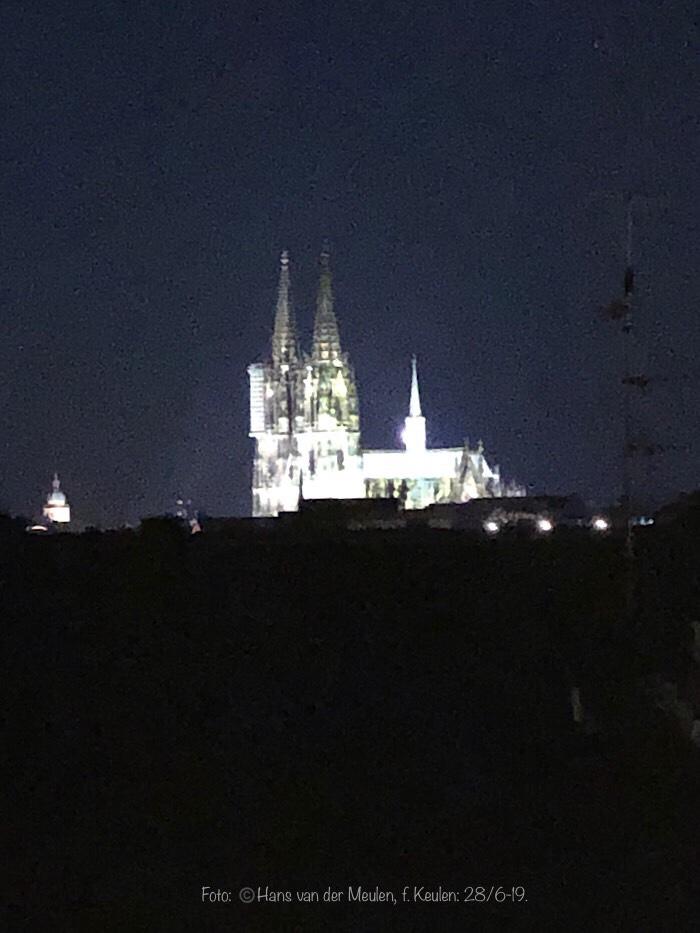 Verlichte Dom van Keulen