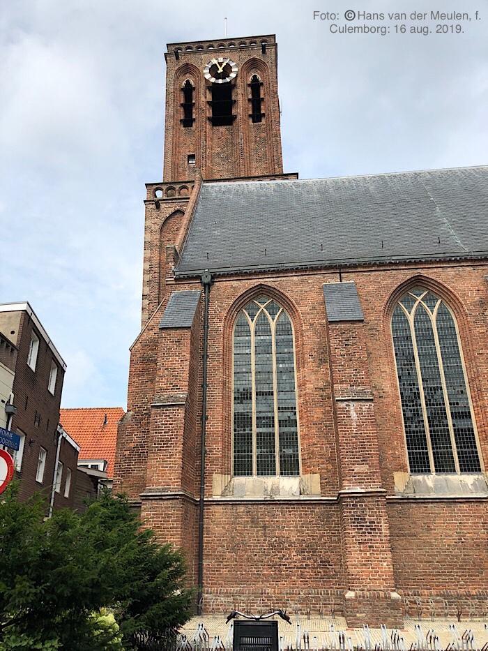 Grote Kerk (RM 11551) Toren: Kromme Elleboogsteeg (RM 11553)