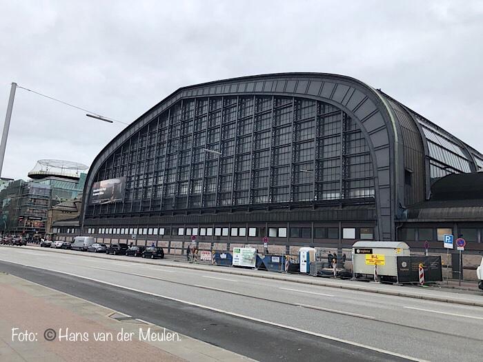 Hamburg Hauptbahnhof: zuidzijde