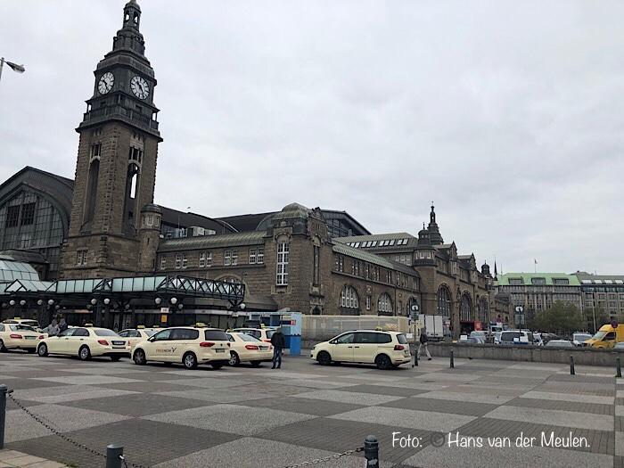 Hamburg Hauptbahnhof: oostzijde