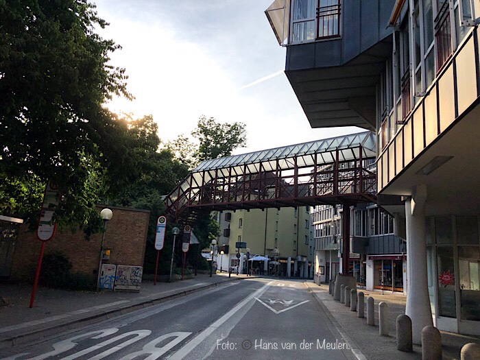 Voetgangersbrug in Osnabrück